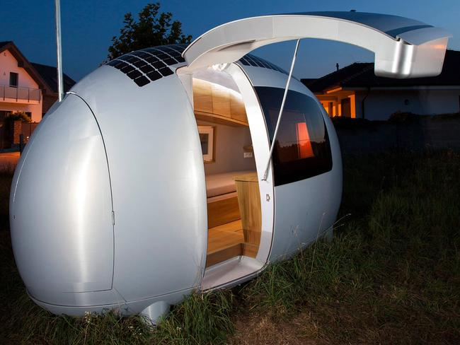 Welcome to my humble abode. Picture: Ecocapsule.sk