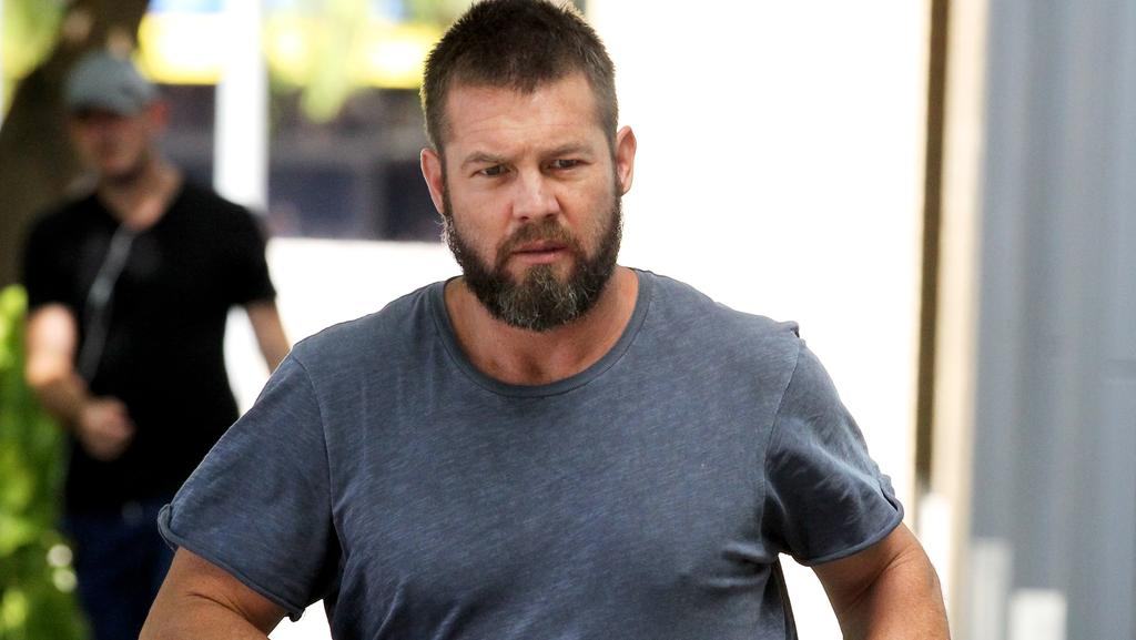Ben Cousins' phone calls indicate he has no intention of quitting drugs, a Perth court has heard. Picture: AAP