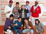Justice Crew. The 2010 Nickelodeon Kids Choice Awards at the Sydney Entertainment Centre on Friday October 8, 2010. Picture: Charles Brewer Picture: Charlie Brewer,