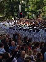 The Anzac Day march through Perth. Picture: PerthNow reader Toby Hocken