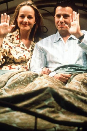 Helen Hunt and Paul Reiser wave goodbye during the show's final episode in 1999. Picture: SuppliedSource:News Corp Australia