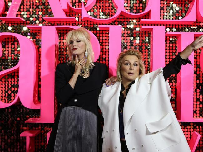 Joanna Lumley and Jennifer Saunders are well and truly done with Absolutely Fabulous.