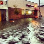 "<span>Street flooding in front of a CVS pharmacy in Margate City, New Jersey - <a href=""http://instagram.com/p/RYY480PEPc"">http://instagram.com/p/RYY480PEPc</a>/ #Sandy</span>"