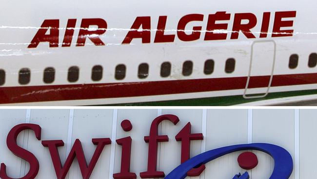 The missing plane took off from Burkina Faso and has never arrived to its destination of Algiers. Picture: AFP PHOTO / JAVIER SORIANO