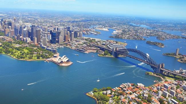 Prices for north shore apartments, just over the Sydney Harbour Bridge, tumbled 6.7 per cent — but the median price is still $900,000. Picture: iStock
