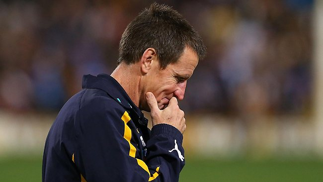 Eagles coach John Worsfold is at a loss to explain his team's shock defeat to Richmond.