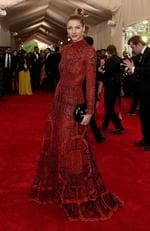 """Jessica Hart attends the Met Gala 2015 """"China: Through The Looking Glass"""". Picture: Getty"""