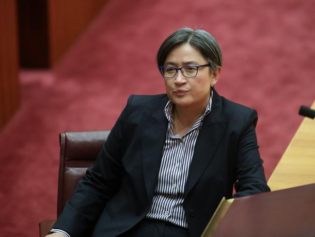 Labor's foreign affairs spokeswoman Penny Wong has also spoken favourably of the scheme. Picture: Gary Ramage