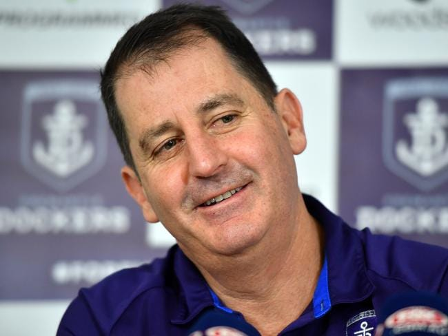 Dockers head coach Ross Lyon has spoken out against the 'reckless' claim.