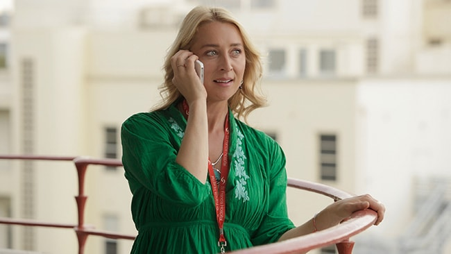 All-new stills of Asher Keddie as Nina Proudman in Ten's Offspring. Picture: Supplied / Ten