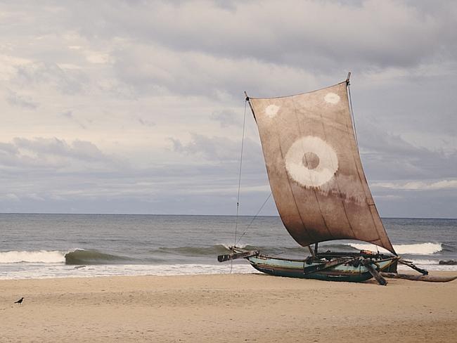 Sri Lankan simplicity.