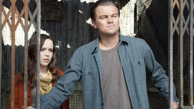 "Leonardo DiCaprio, with Ellen Page, played a ""dream stealer"" in the multi-layered film ."