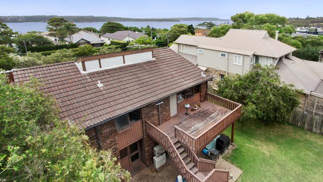The pair were looking for a large block close to the harbour according to their buyer's agent.