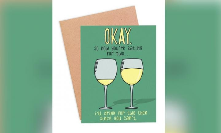 Finally, honest greeting cards for the preggos in your life