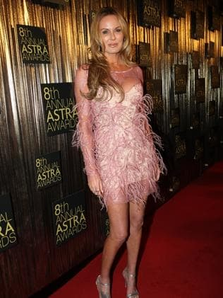 Dogged by demons ... Charlotte Dawson at the 2010 ASTRA Awards.