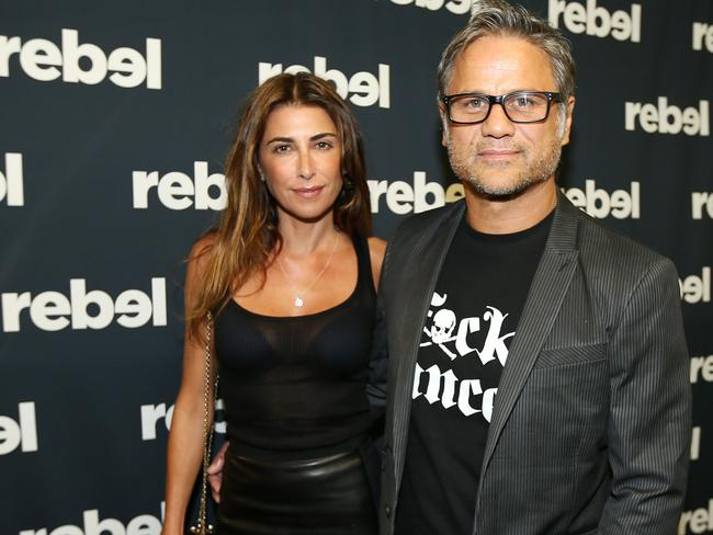 Smoking row ... Jodhi Meares and Jon Stevens had a row with other diners who they were smoking near before her car crash.