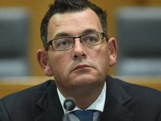 Victorian Premier Daniel Andrews speaks during a press conference after a meeting of the Council of Australian Governments (COAG) at Parliament House in Canberra, Friday, Dec. 9, 2016. (AAP Image/Lukas Coch) NO ARCHIVING