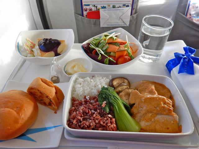 Gross reality about eating on planes