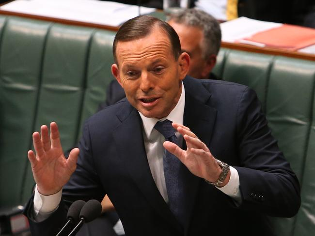 Confronting ... Prime Minister Tony Abbott says he wishes the burqa was not worn in Australia.