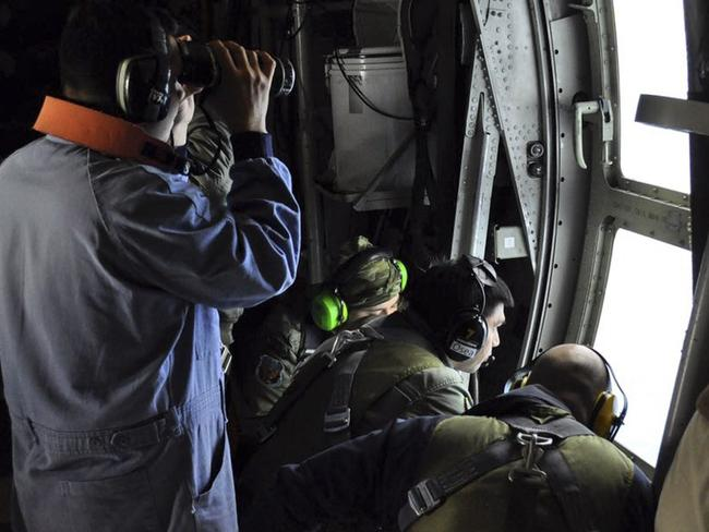 The nine-nation, land and sea search is at a critical point. Picture: Argentinian Navy via AP