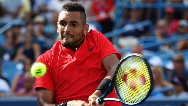 Kyrgios has plenty of fans in the game. Image: Rob Carr/Getty Images/AFP
