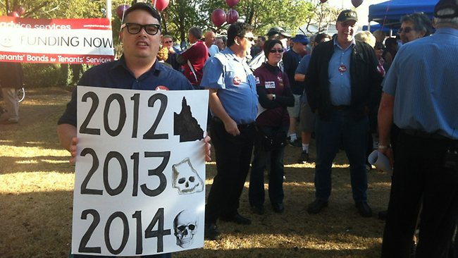 Protest at Ashgrove