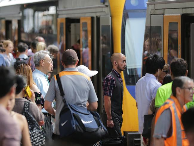 Making transport connections easier for commuters is the aim of the proposal to scrap timetables. Picture: Christian Gilles
