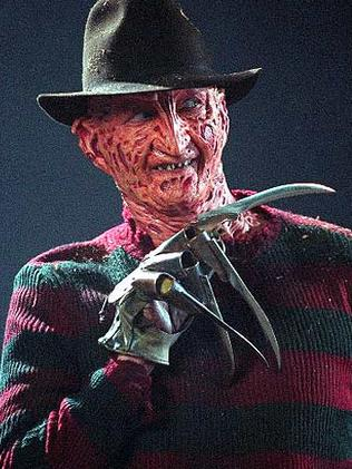 ... becomes Freddy Krueger.