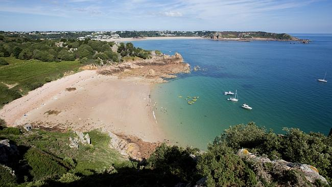 Beauport Bay on Jersey. Picture: Lonely Planet