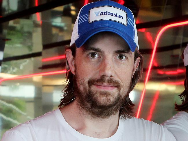 Atlassian co-founder Mike Cannon-Brookes is trying to help solve SA's energy problems. Picture: Hollie Adams/The Australian