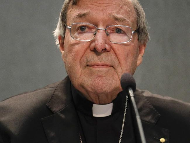 Cardinal George Pell says he will return to Australia to fight the charges. Picture: AP Photo/Gregorio Borgia
