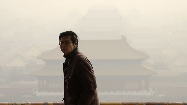CHINA-ENVIRONMENT-POLLUTION-TRANSPORT-HEALTH