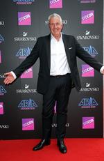 Darryl Braithwaite pictured arriving at the 2017 ARIA Awards held at The Star in Pyrmont in Sydney. Picture: Richard Dobson