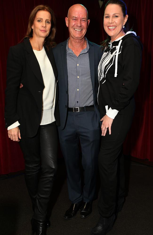 <i>House Husbands</i> launch. Rachel Griffiths, Gary Sweet and Julia Morris.