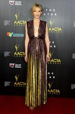 Cate Blanchett arrives at the 3rd Annual AACTA Awards Ceremony. Picture: Getty