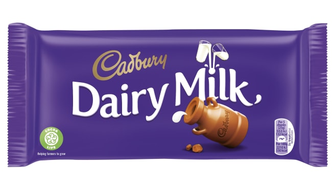 Cadbury's owner, Mondelez, is introducing the Cocoa Life program, and its mark, to Australia. Photo: Supplied