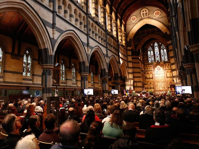 Large turnout at St Paul's Cathedral. Picture: Getty