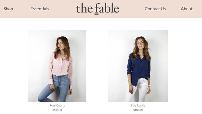 The Fable specialises in affordable silk shirts.
