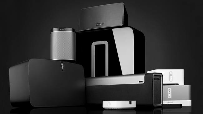 Fresh sound ... The new Sonos Play: 5 is the flagship speaker in the Sonos family that can be finetuend with speaker-runing software called Trueplay.