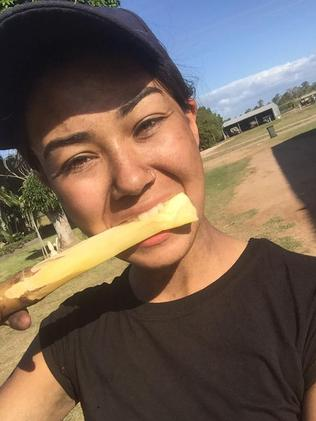 Mia Ayliffe Chung was working on a sugar cane farm.
