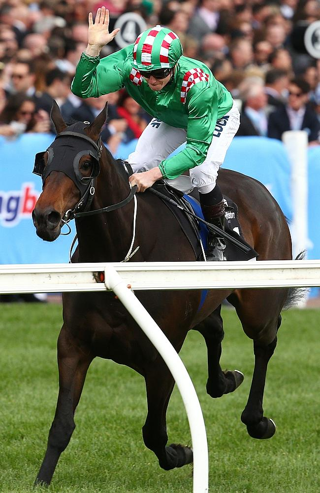 Moonee Valley Races, Cox Plate Day, 26th October, Melbourne. Race 5, Mitchelton Wine Vase