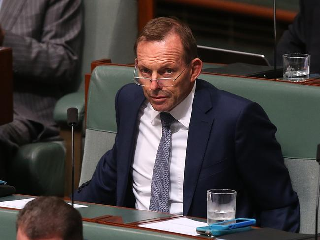 Tony Abbott says early access to superannuation to allow young Australians to buy a home is a 'good idea'. Picture: Kym Smith