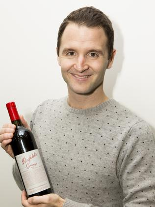 Happy with his Grange ... Jonathan Maher.
