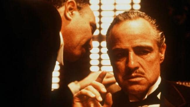 The original Don ? Marlon Brando won an Oscar for his role as Vito Corleone in The Godfather.
