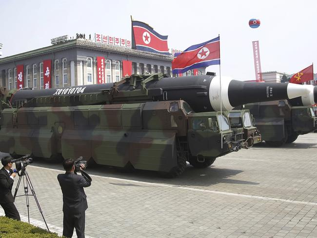 The North Koreans may have the technology to launch an intercontinental ballistic missile. Picture: AP Photo/Wong Maye-E