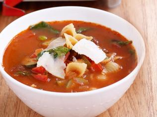 Supplied News Autumn tomato and vegetable soup