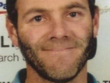 Missing man Russell jenkin, who was last seen 10 years ago.