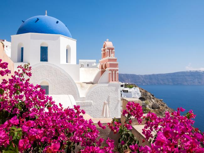 The Greek island is experiencing a massive boom in tourism, which is good and bad. Picture: iStock
