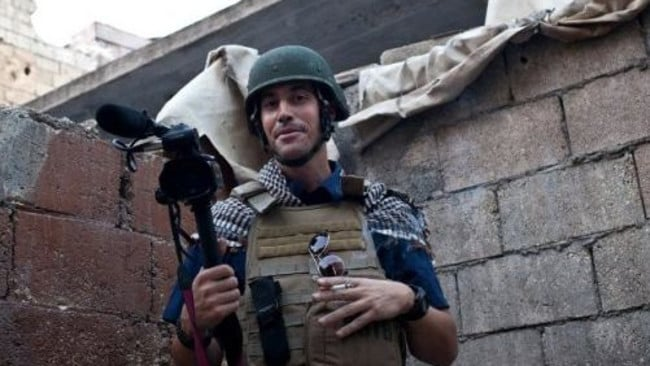 US journalist James Foley: Picture: AFP