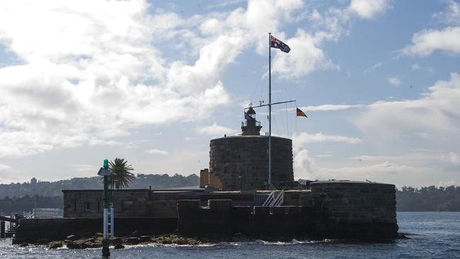 Regognisable: Fort Denison, an island in Sydney Harbour, is readily visable from Circular Quay.